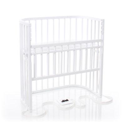 babybay Sideseng Boxspring Comfort hvid