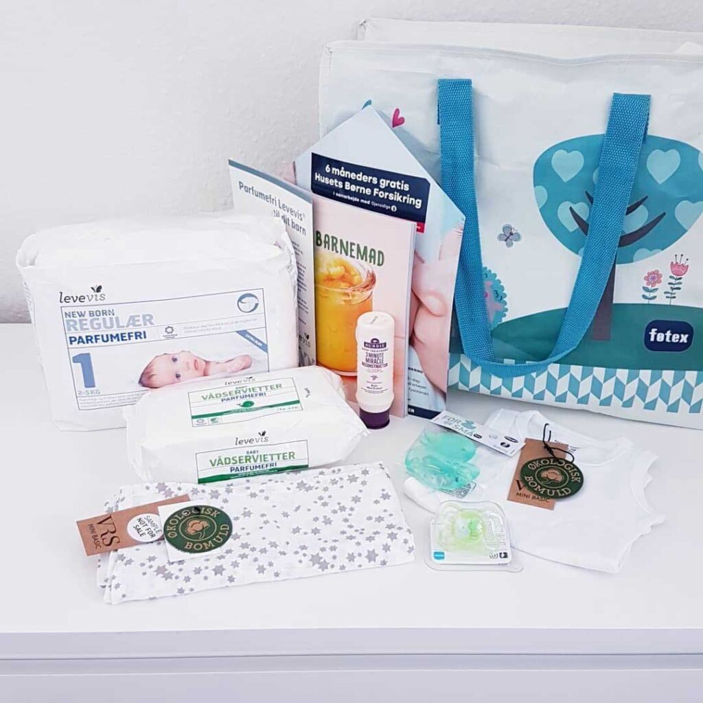 Føtex babypakke