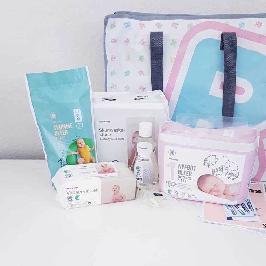 Babypakke Rema 1000